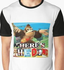 where is the dong Graphic T-Shirt