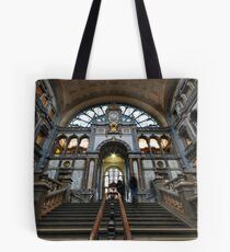 Railway station Antwerp Tote Bag