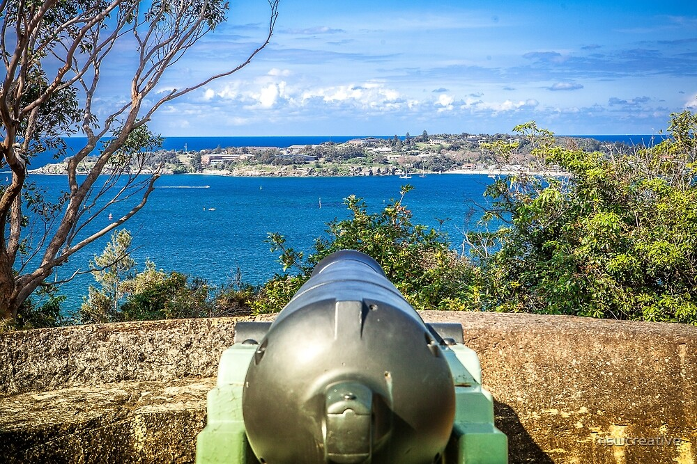 Canon at Gunners Barracks Sydney by nswcreative