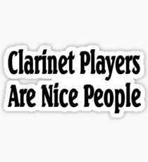 Clarinet Sticker