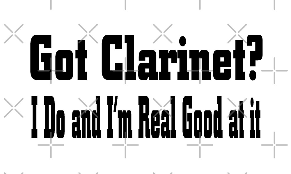 Clarinet by greatshirts