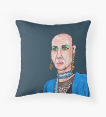 Liz Fan Art Throw Pillow