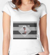 Hoodie Allen - Landscape Women's Fitted Scoop T-Shirt