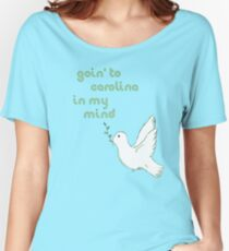 Goin' to Carolina: James Taylor Women's Relaxed Fit T-Shirt