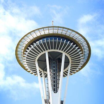 Seattle Space Needle by plopezjr