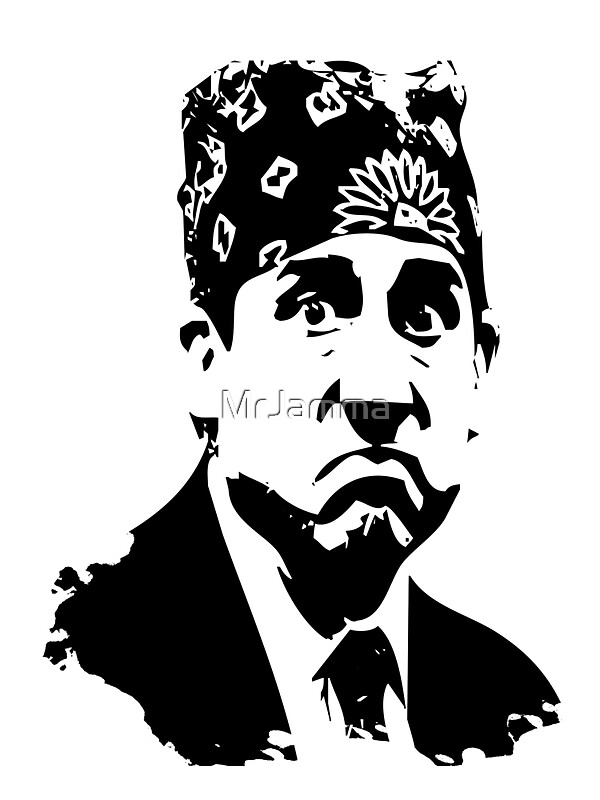 """The Office Prison Mike - Steve Carrell"" Stickers by ..."