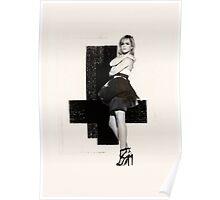 Emma Watson Grunge Poster