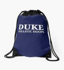 Duke College Hoops Drawstring Bag
