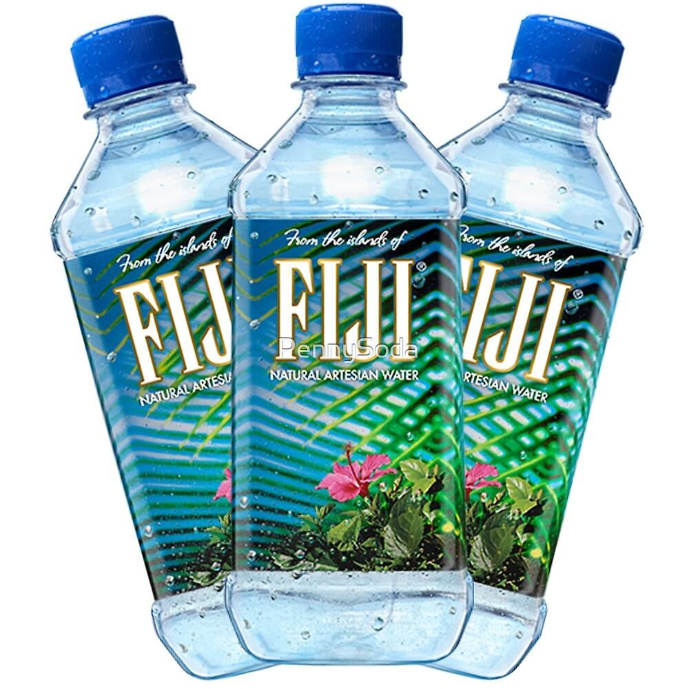 Fiji Water Bottles by PennySoda