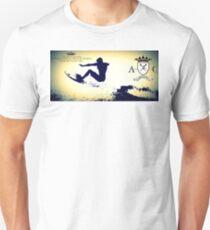 Americanconstruction Ride the Wave T-Shirt