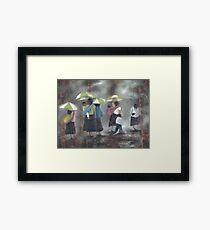 The Rain - La Lluvia Framed Print