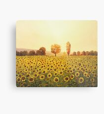 Memories of The Summer Metal Print