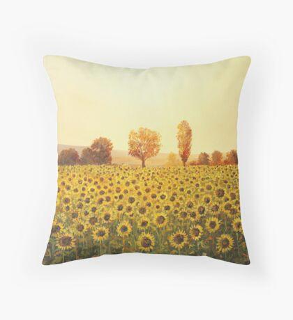 Memories of The Summer Throw Pillow