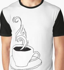 coffee scribble Graphic T-Shirt