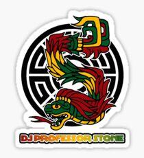 DJ Professor Stone - July 2012 Merch ver 777 bc rt no branding no websites Sticker