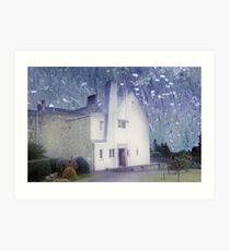 The Hill House by Charles Rennie Mackintosh Art Print