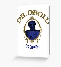 Ain't Nuthin' but a Droid Thing Baby Greeting Card