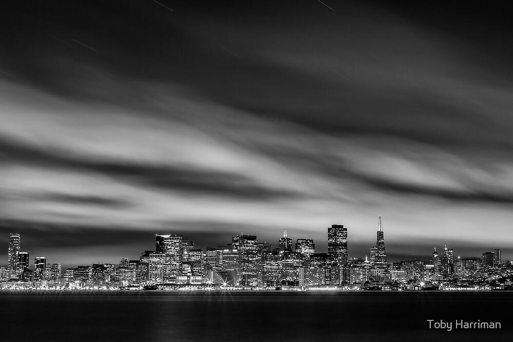 The San Francisco Skyline by Toby Harriman