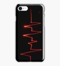 The heartbeat by Sebastian Ratti iPhone Case/Skin