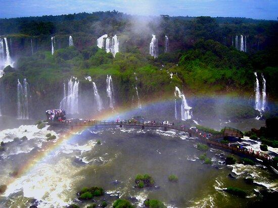 Iguazu Rainbow by dher5