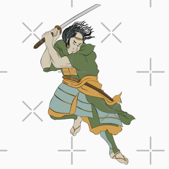 Two Samurai Stance Sword 5