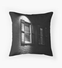 Spotlight in the Alley Throw Pillow