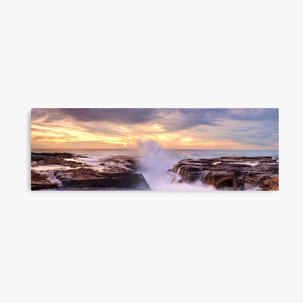 Narrabeen Rocks, New South Wales, Australia Canvas Print