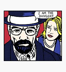 I Am the Danger Lichtenstein Photographic Print