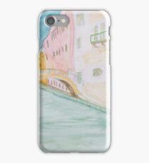 Street Canal Bridge. iPhone Case/Skin