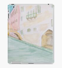 Street Canal Bridge. iPad Case/Skin