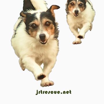 Scooter Tee Shirt for Jack Russell Rescue by JRTrescue
