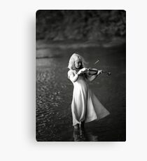 River Music Canvas Print