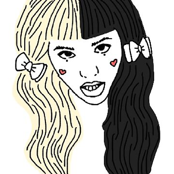 Mealanie Martinez - Outline by artsyfalcon46