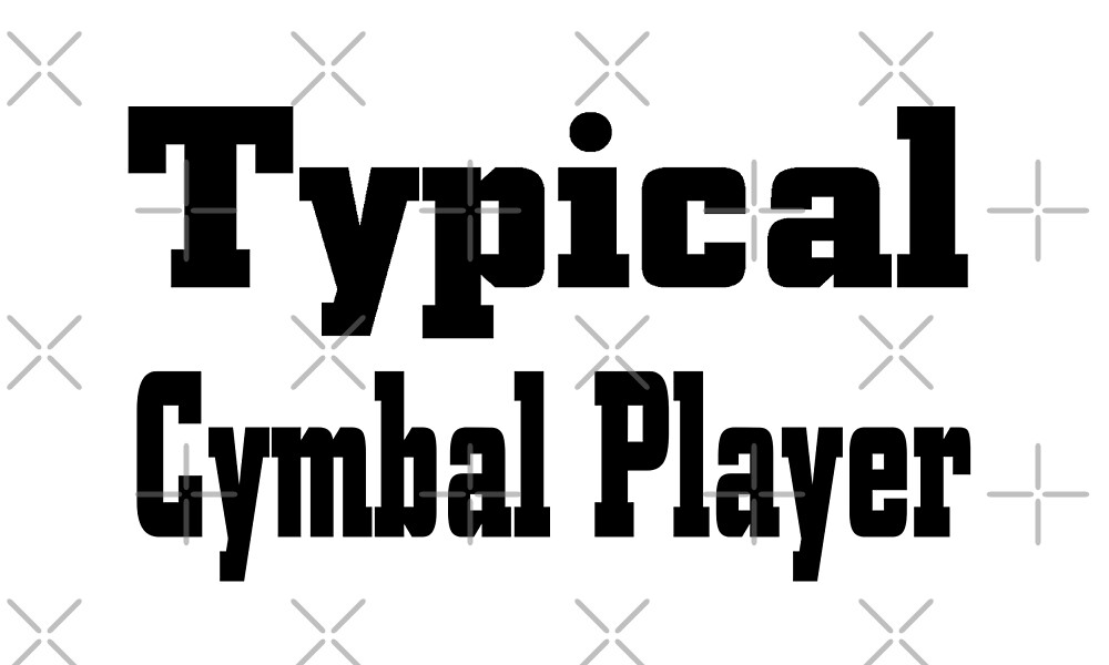 Cymbal by greatshirts