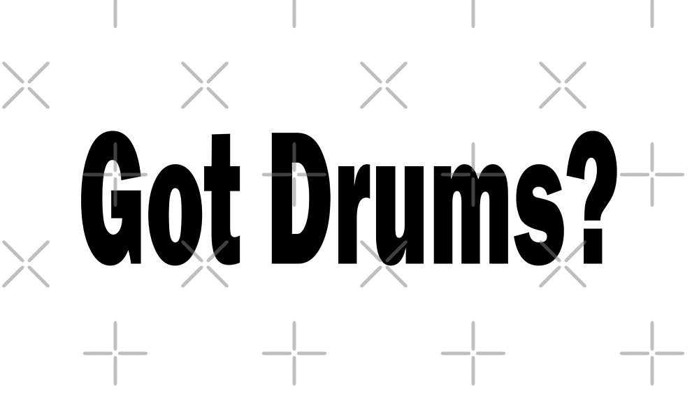 Drums by greatshirts