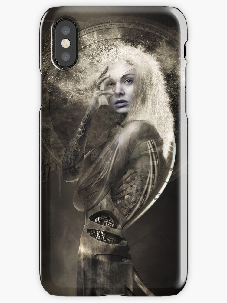 Dharma (i phone case) by Martin Muir