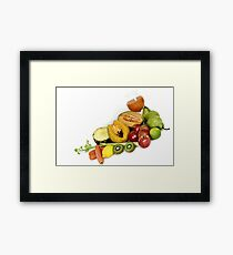 FRUIT FRUIT FRUIT!!! Framed Print