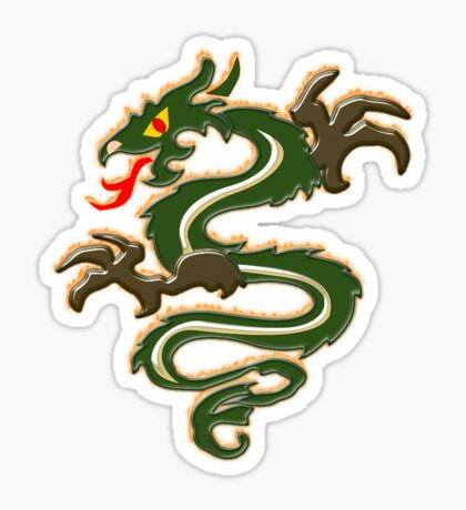 Dragon  (6501 Views) Sticker
