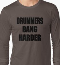 DRUMMERS BANG HARDER (DAVE GROHL, TAYLOR HAWKINS) T-Shirt