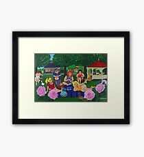 Bruthen Beauties Picnic in the Park Framed Print