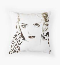 Bette Davis Throw Pillow