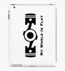 Subaru My World is Flat iPad Case/Skin