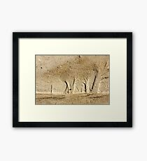 Forest in the Sand Framed Print