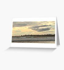 Ominous Skies at Mavillette Greeting Card