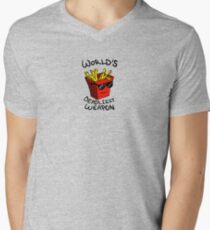World's Deadliest Weapon (Original) Men's V-Neck T-Shirt