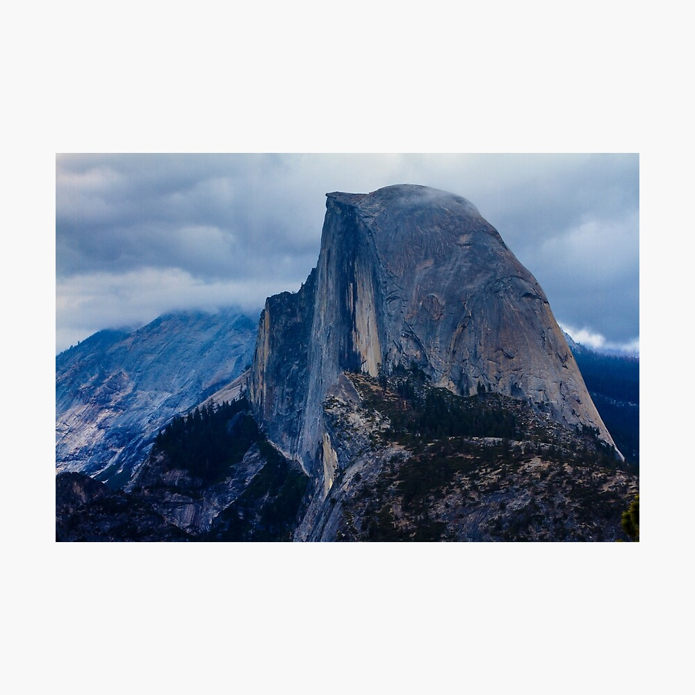 Half Dome Yosemite Lámina fotográfica