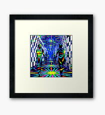 ...Over and Over and Over Again... Framed Print