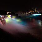 Niagara at Night by Roddy Atkinson