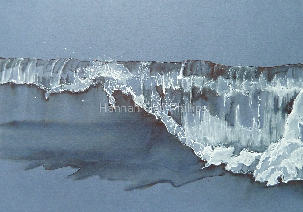 wavelet close up  by Hannah Clair Phillips