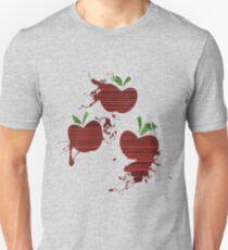 Apple Jack Cutie Mark Grain & Splatter Unisex T-Shirt